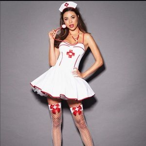 Nurse costume dress